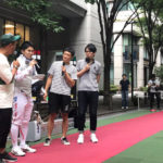ザブングルさんと『MARUNOUCHI SPORTS FES 2017』